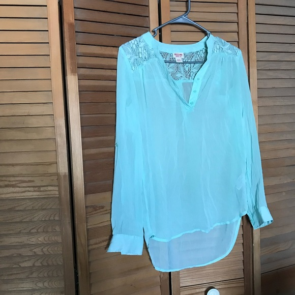 Mossimo Supply Co. Tops - Mossimo sheer blouse
